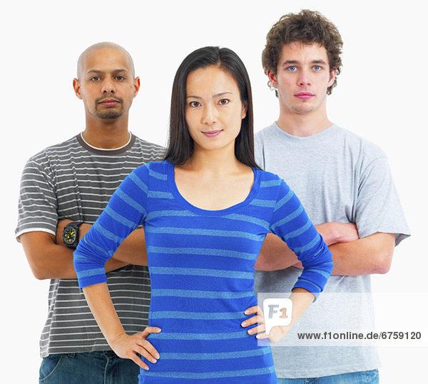 Drei Personen
