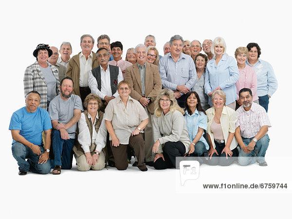 Eine Gruppe von Personen