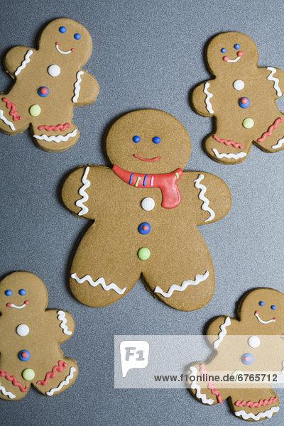 Lebkuchen Mann cookies
