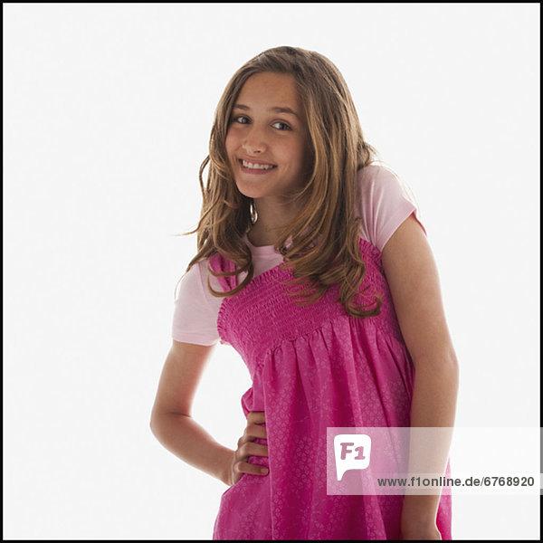 Portrait  Jugendlicher  Mädchen  hübsch