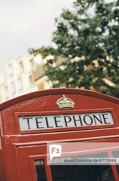 Telefonzelle in London England