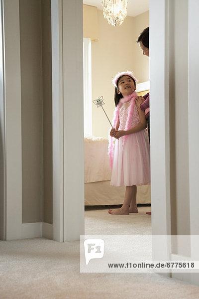 jung  Kostüm - Faschingskostüm  Mädchen  spielen