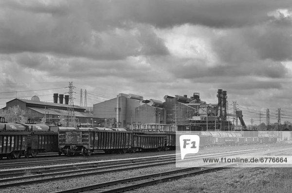 Vereinigte Staaten von Amerika  USA  Stahlwerk  Ohio