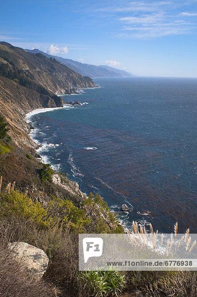 Vereinigte Staaten von Amerika  USA  Big Sur  Kalifornien
