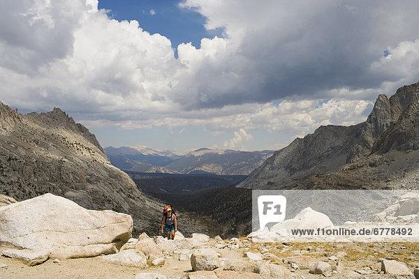 Vereinigte Staaten von Amerika  USA  Sequoia Nationalpark  Kalifornien