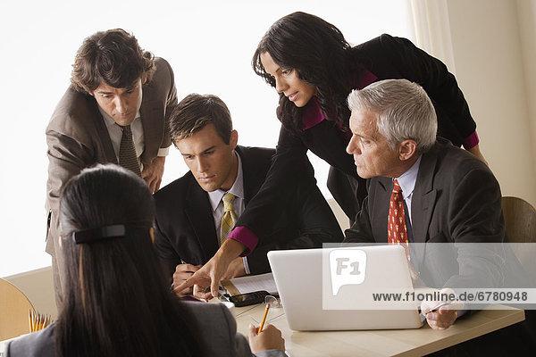 Geschäftstreffen Businesstreff Meeting