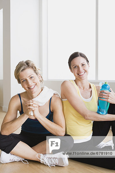 Fitness-Studio  Frau  2
