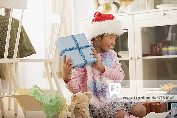 Geburtstagsgeschenk Morgen Weihnachten Mädchen