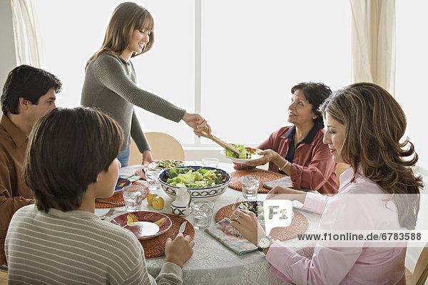 Zusammenhalt Gericht Mahlzeit