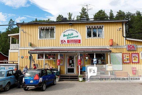 Bodsjö  agricultural trade Jämtland Sweden