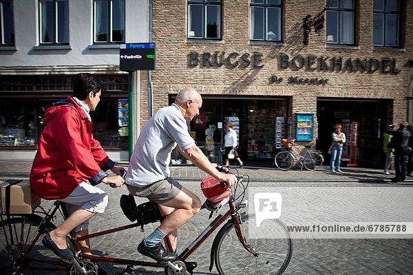 Fahrrad  Rad  Belgien  Innenstadt  Flandern
