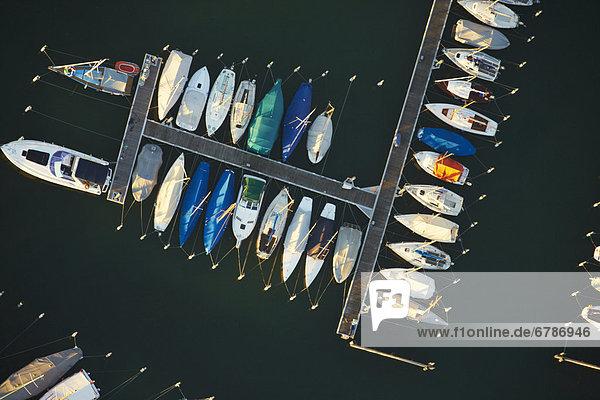 Boote im Hafen von Sipplingen  Bodensee  Baden-Württemberg  Deutschland  Luftbild Boote im Hafen von Sipplingen, Bodensee, Baden-Württemberg, Deutschland, Luftbild