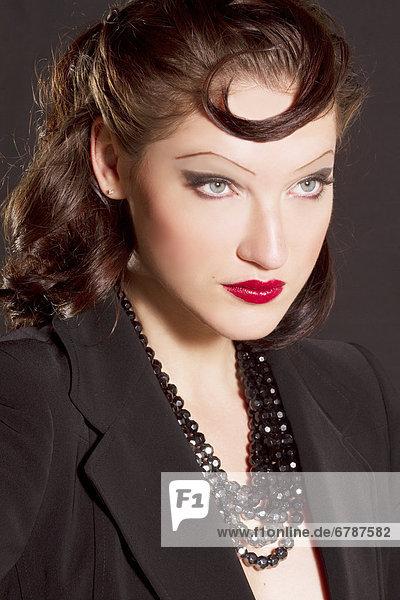 Hawaii  Studioaufnahme von der schönen Anya Rosowa  bekannt als am America's Next Top Model.