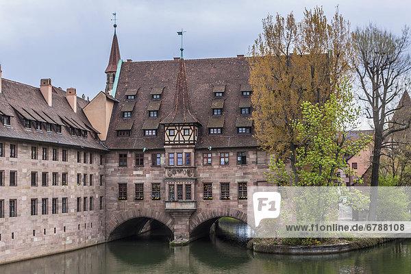 Das Heilig-Geist-Spital  Pegnitz  Nürnberg  Mittelfranken  Bayern  Deutschland  Europa Das Heilig-Geist-Spital, Pegnitz, Nürnberg, Mittelfranken, Bayern, Deutschland, Europa