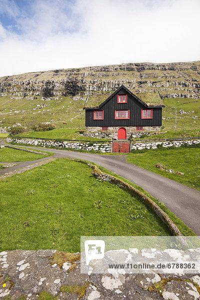 Europa Dänemark Färöer-Inseln Nordeuropa