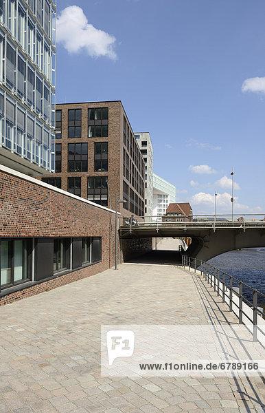 Bürogebäude Germanische Lloyd  Shanghaibrücke  Ericus-Contor  HafenCity  Hansestadt Hamburg  Deutschland  Europa