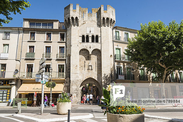 Stadttor  Manosque  Provence-Alpes-CÙte díAzur  Frankreich  Europa