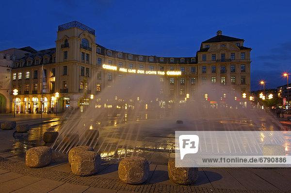 Karlsplatz square  Munich  Bavaria  Germany  Europe
