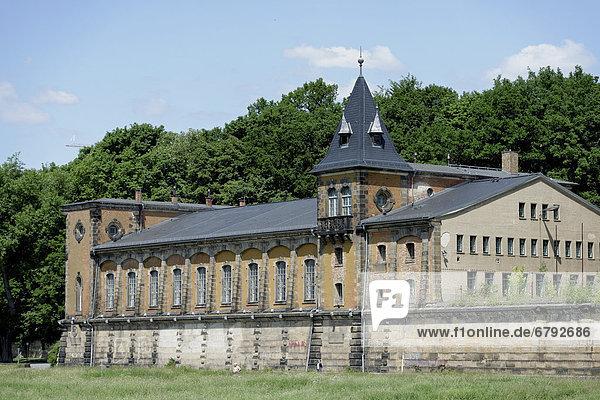 Wasserwerk Saloppe  Dresden  Sachsen  Deutschland  Europa
