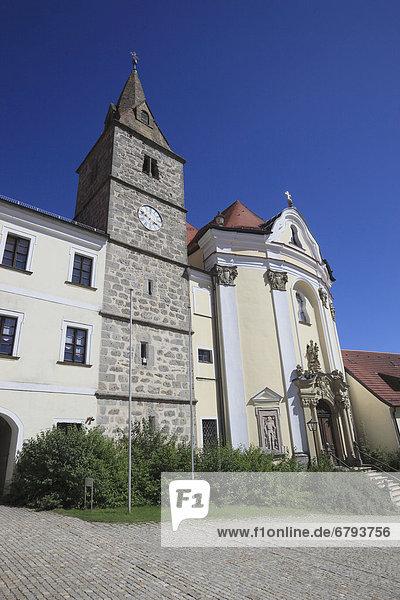Kloster Frauenzell  ehemaliges Benediktinerkloster  Brennberg  Oberpfalz  Bayern  Deutschland  Europa