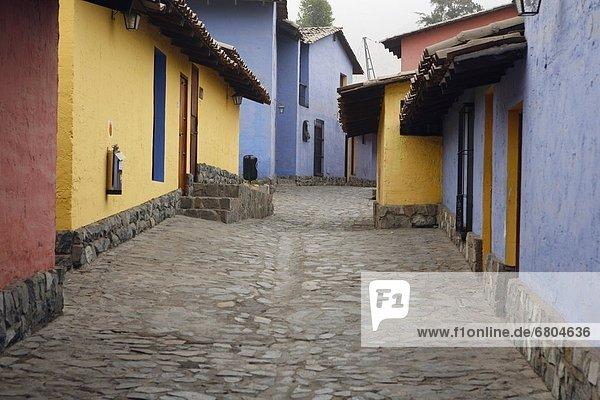 Lima Hauptstadt Gasse Peru