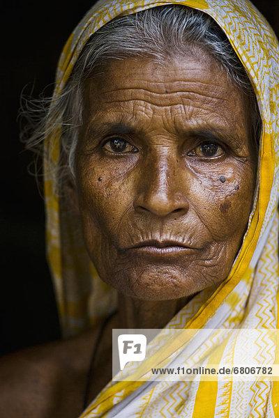 Portait Of A Woman  Sylhet  Bangladesh