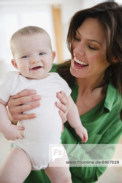 halten  Tochter  Mutter - Mensch  Baby