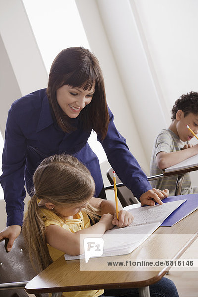 Lehrer  Klassenzimmer