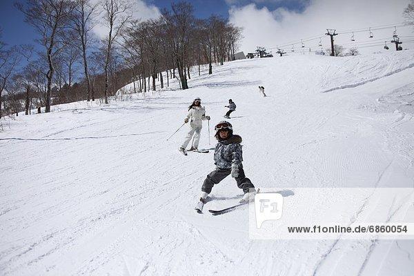 Snowboarding  Mensch  Menschen  Skisport