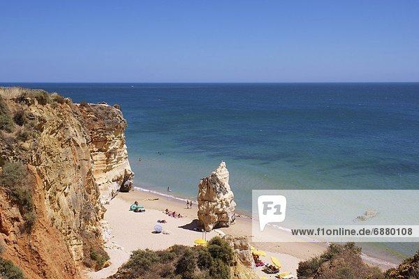 Praia da Rocha  Algarve  Portugal  Europa