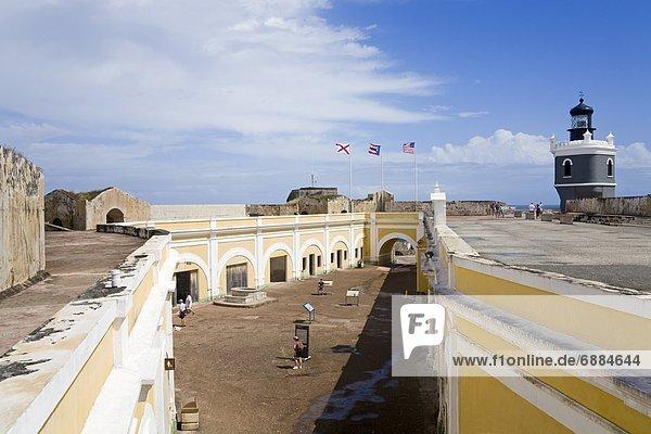 Vereinigte Staaten von Amerika  USA  Leuchtturm  Westindische Inseln  Mittelamerika