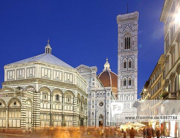 Europa  UNESCO-Welterbe  Florenz  Italien  Toskana