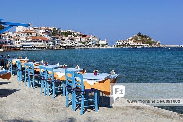 Ägäische Inseln Griechenland Kokkari Samos
