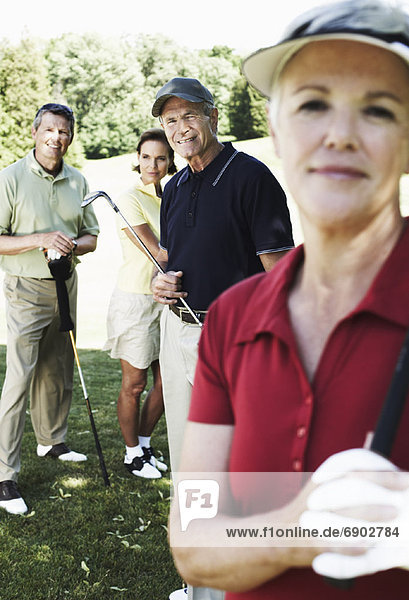Portrait of Golfers