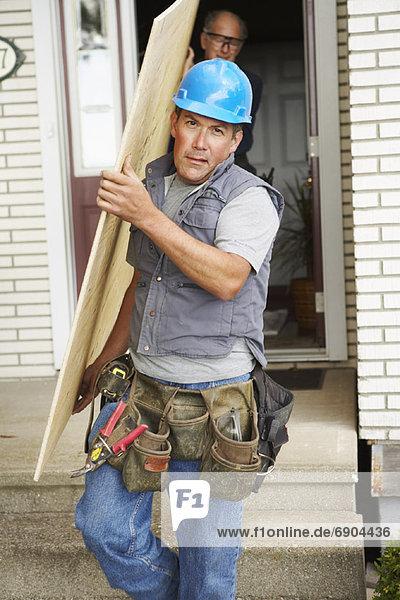 bauen tragen Wohnhaus arbeiten