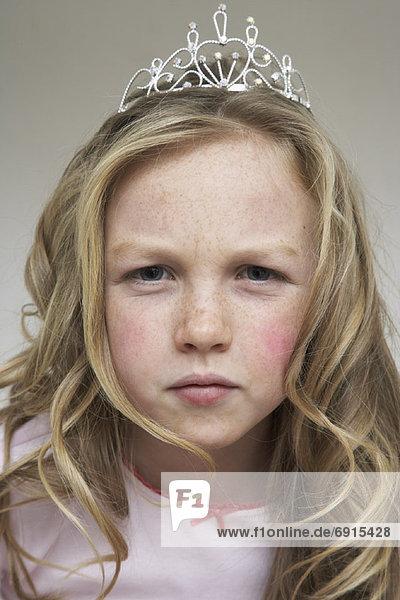 Portrait  Zorn  Mädchen