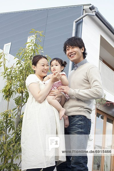 Menschlicher Vater Mädchen Mutter - Mensch Baby