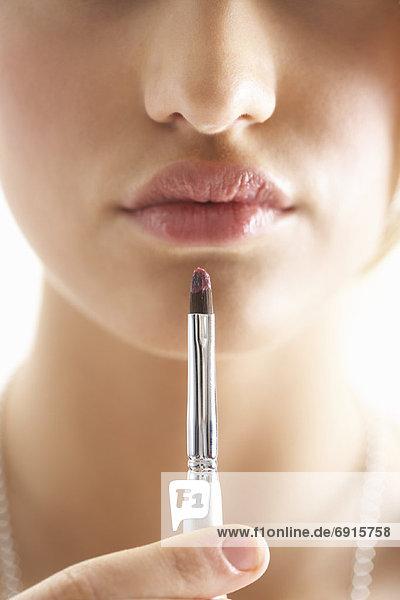 Lippenstift  Mädchen