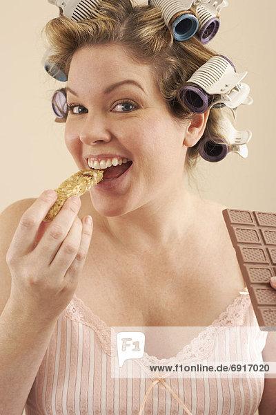 Frau  Schokolade  Müsli
