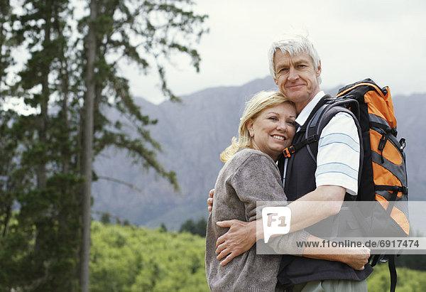 Porträt eines ausgereiften Paares