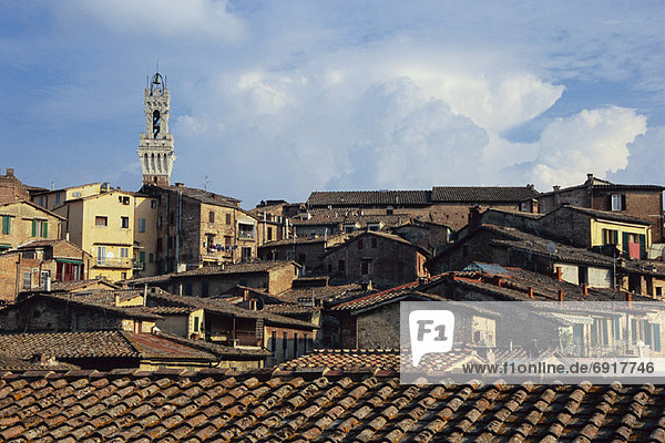Torre del Mangia  Siena  Toskana  Italien