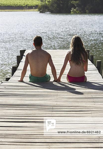 sitzend Dock