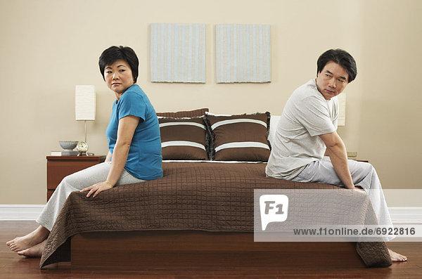 Ärger  Schlafzimmer