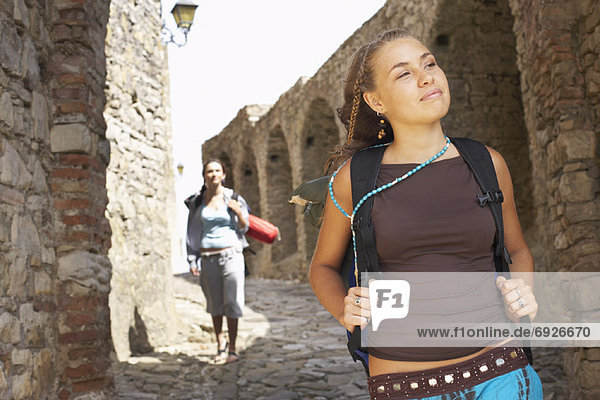 Backpacker  Spanien