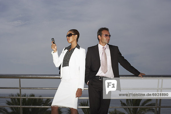 Businesspeople Outdoors