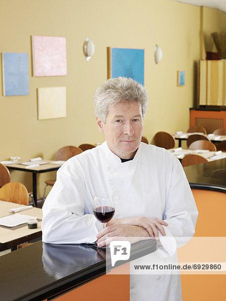 Portrait Restaurant Köchin