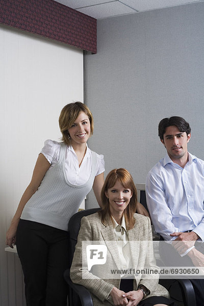 Firmen bei der Arbeit