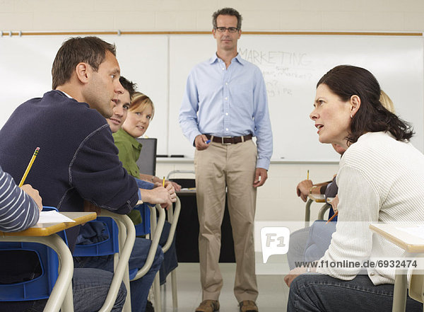 sprechen  Klassenzimmer  Student