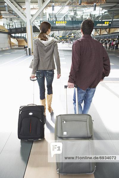 gehen  Gepäck  Flughafen  British Columbia  Kanada  Vancouver