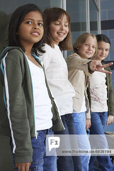Schule  Mädchen